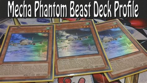 mecha phantom beast deck 2017 mecha phantom beast deck profile post judgment of the