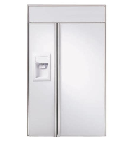 ziswdr ge monogram  built  side  side refrigerator  dispenser monogram appliances