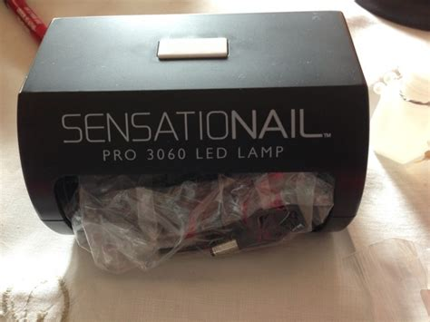 free sensationail pro 3060 led l for gel nails other