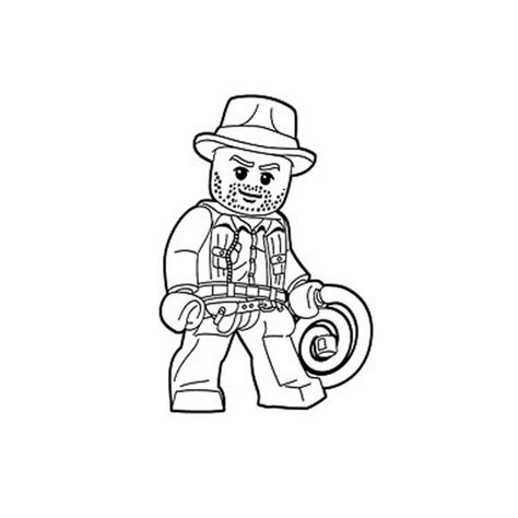 Lego Indiana Jones Coloring Pages Free Coloring For Kids