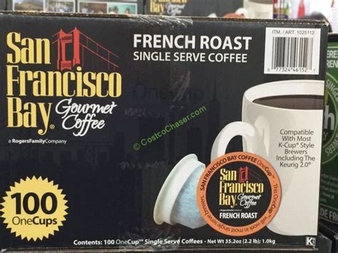 Voucherarea promises you'll get the best price on products you want to buy. San Francisco Bay Single Serve Coffee French Roast 100 Count - CostcoChaser