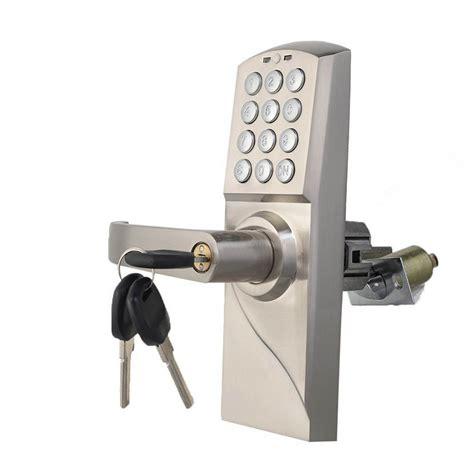 keyless entry door locks digital electronic code keyless keypad security entry door