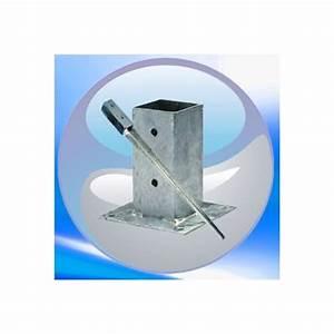 Support De Poteau : support pour poteau 7 x 7 9 x 9 ou 12 x12 mm clic discount ~ Melissatoandfro.com Idées de Décoration