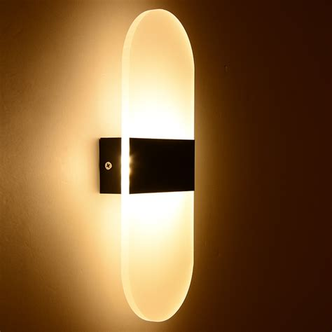 modern led bedroom wall ls fixture decorative ls way light for pathway