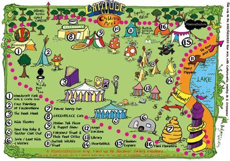 25 Best Festival Maps Images On Pinterest  Illustrated