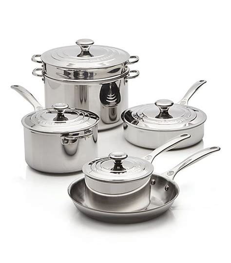 creuset le cookware stainless steel pots pans brands chefs pot pan signature mydomaine nyc buying worth piece brand according looking