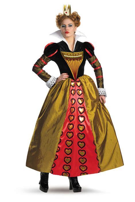Disney Alice in Wonderland Red Queen Deluxe Adult Costume - PureCostumes.com