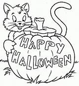 Halloween Coloring Pages Printable Filminspector sketch template