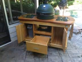 big green egg table plans with doors » woodworktips
