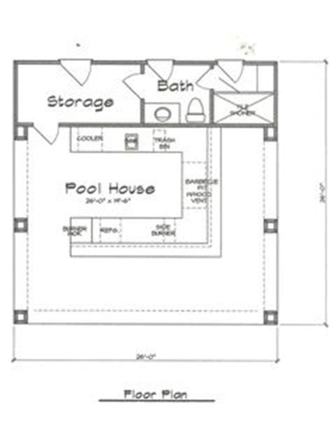 pool house plans with bathroom 1000 images about cabana by pool on pool