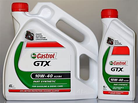Castrol Gtx 10w 40 Available In 1 Litre 4 Litre
