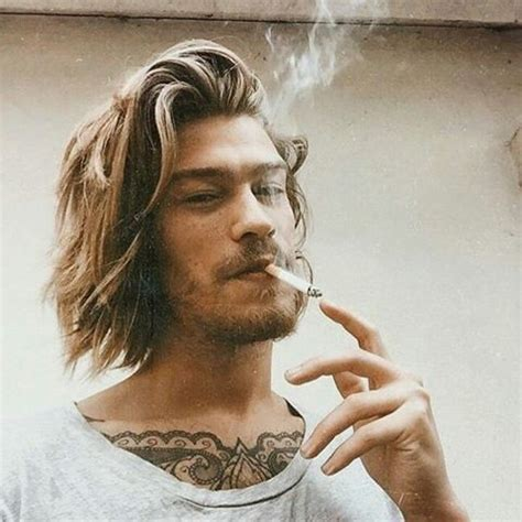 mens chin length hairstyles   style