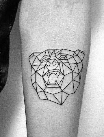 Geometric Minimalist Tattoos Men