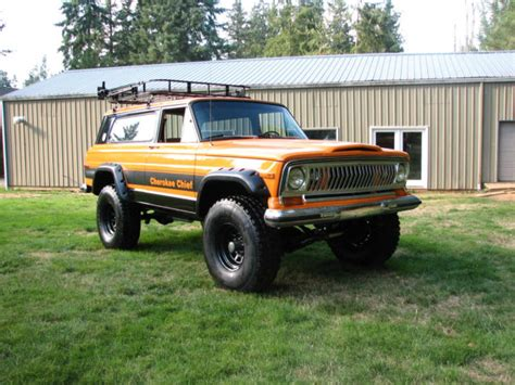 1977 jeep cherokee chief 1977 jeep cherokee chief sport wide track 4x4 restored