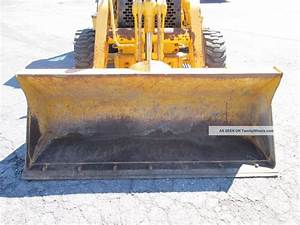 2000 John Deere 310e Loader Backhoe - 4x4