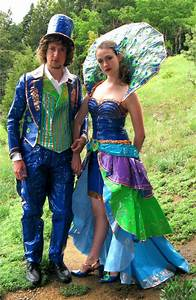 steampunk duct tape dresses | Duct Tape Prom Dress and ...