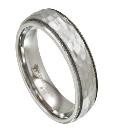 Mens Stainless Steel Wedding Band  Hammered Finish. Engangement Engagement Rings. 2.5 Wedding Rings. Era Wedding Rings. Unicorn Engagement Rings. Weddingbee Wedding Rings. Locked Engagement Rings. Demon Engagement Rings. Harmony Engagement Rings