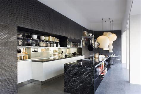 modern island kitchen black marble kitchen island interior design ideas