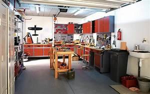 Amenagement Garage Atelier : un atelier de garage leroy merlin ~ Melissatoandfro.com Idées de Décoration