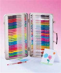 52pc Gel Pens with Case These are great for card making