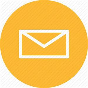 Circle  Email  Letter  Mail  Message  Messages  Yellow Icon
