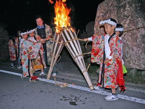 japan kurama fire festival