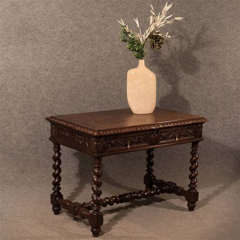 vintage accent tables antique library writing side table 3155