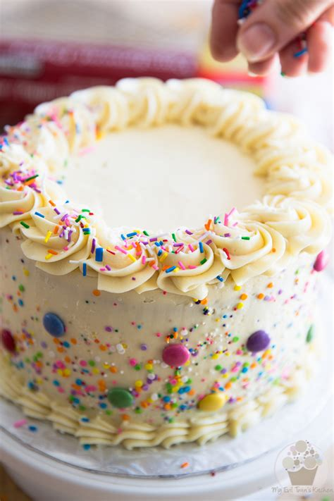 Funfetti Birthday Cake • My Evil Twin's Kitchen