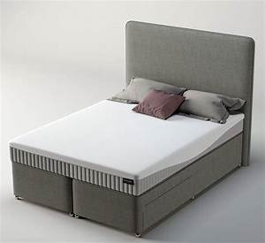 Dunlopillo orchid small double divan bed sprung edge for Divan sofa bed