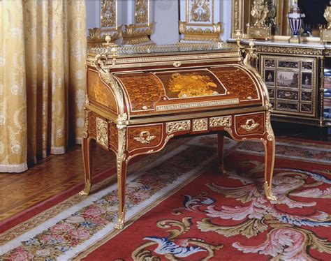 bureau henri 2 jean henri riesener 1734 1806 roll top desk bureau à