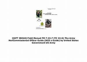 Gift Ideas  Field Manual Fm 7