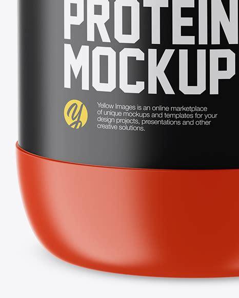 Object mockups, apparel mockups, free matte protein jar mockup bag & sack mockups, visualise your ideas on this mockup of a matte. Matte Protein Jar With Glossy Cap Mockup in Jar Mockups on ...