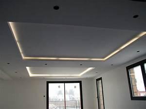 faux plafond eclairage myfrdesignco With meuble pour petite cuisine 8 amenager son entree meubles amp decoration alinea