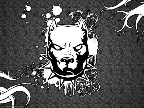bureau de style tlcharger fond d 39 ecran pitbull chien chien logo fonds d