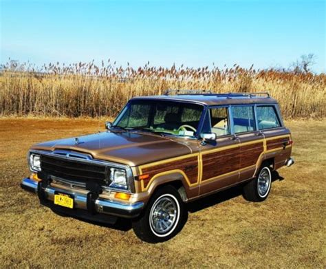 1989 jeep grand wagoneer buy used 1989 jeep grand wagoneer quot wagonmaster quot in