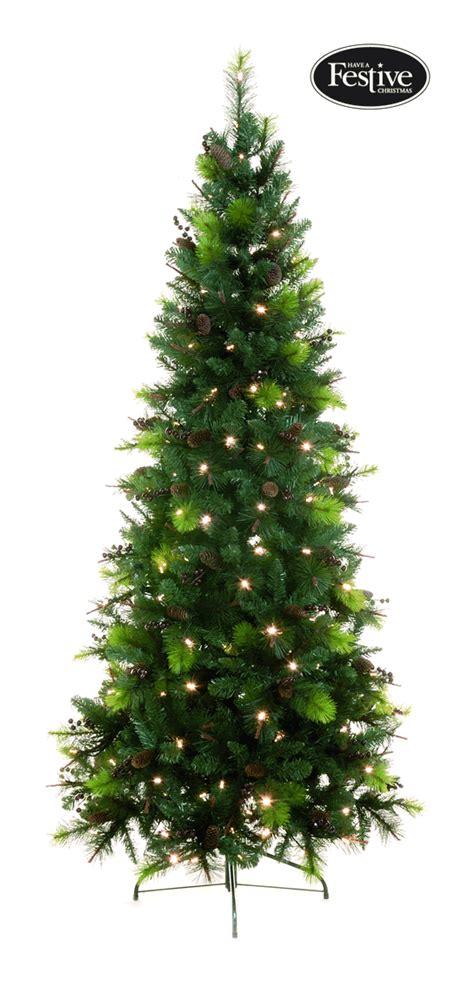 pre lit sherwood pine christmas tree 163 123 49