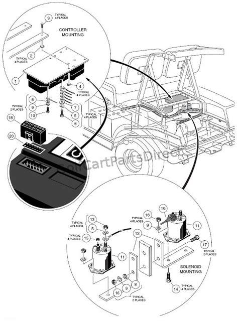 club car gas ds  electric club car parts