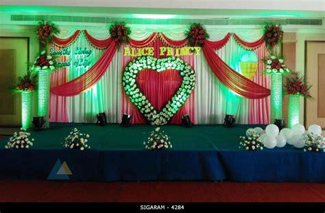 reception stage decorators in coimbatore