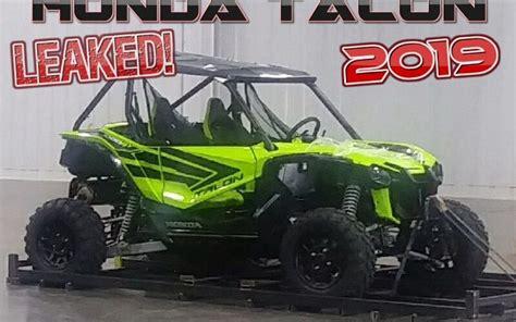 Allnew 2019 Honda Talon 1000 Sport Side By Side Leaked