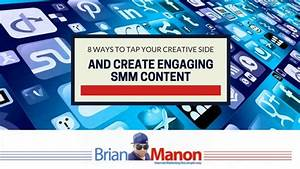 8 Ways to Tap Your Creative Side And Create Engaging SMM ...