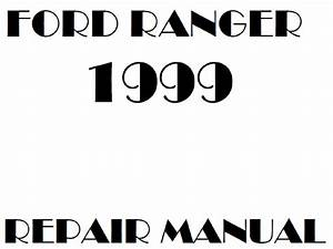 1999 Ford Ranger Repair Manual