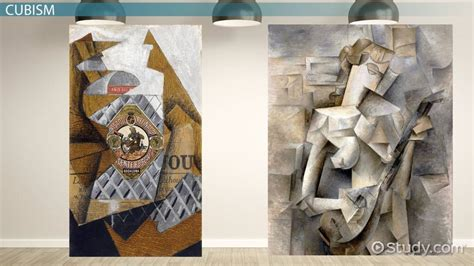 analytical cubism  synthetic cubism video lesson