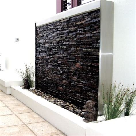 outdoor water wall home design ideas amazing outdoor water walls for your backyard