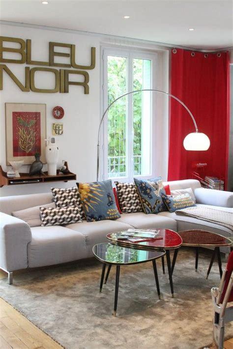 deco photo salon  maison de famille entre style