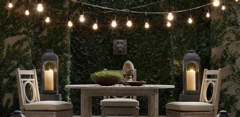restoration hardware string lights string lights rh