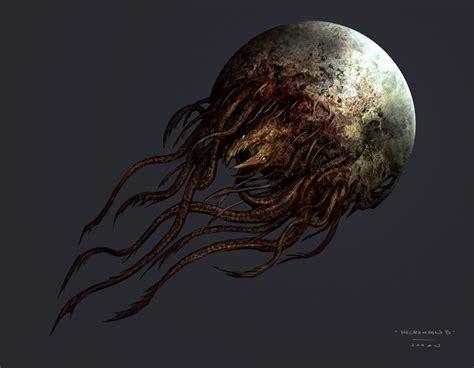 Image Dead Space 3 Moon Boss Concept Art Dead