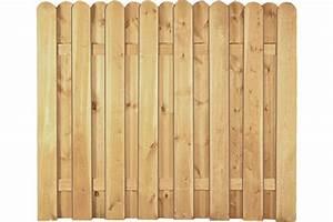Sichtschutzzaun Holz 180x180 : sichtschutzzaun kiefer l rche 180 x 150 cm woodstore24 ~ Frokenaadalensverden.com Haus und Dekorationen