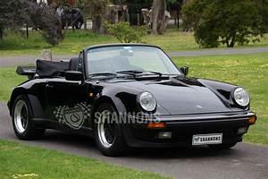 Porsche 911 3 2 : porsche 911 carrera 3 2 39 wide body 39 convertible auctions lot 37 shannons ~ Medecine-chirurgie-esthetiques.com Avis de Voitures