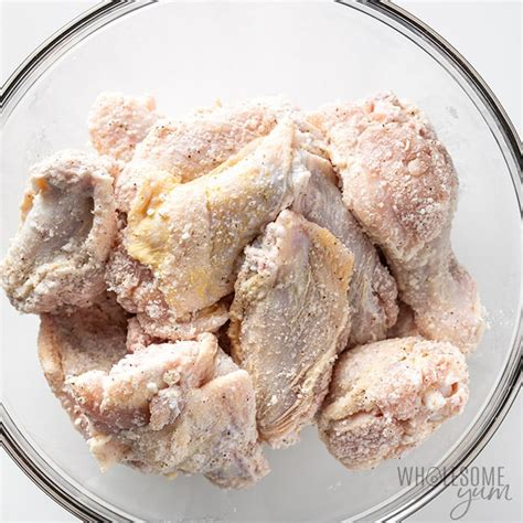 wings chicken recipe fryer air crispy baking powder before bowl crisp thawed cooking yup thinking might secret outside getting really