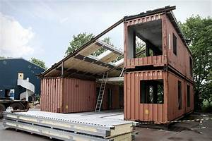 Container Zum Wohnen Kaufen : the creative green design of a shipping container home ~ Markanthonyermac.com Haus und Dekorationen